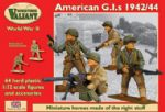 VM003 Valian Miniatures  1/72 Scale American GIs 1942/44